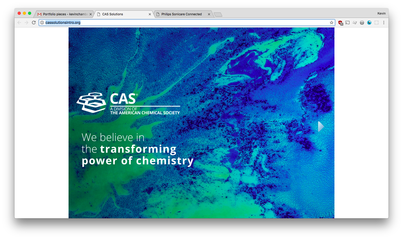 Cas and Philips Sonicare projects